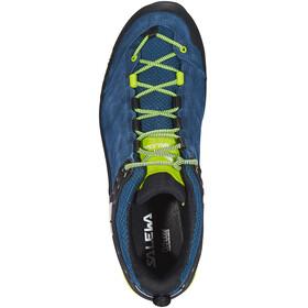 Salewa MTN Trainer Schoenen Heren geel/blauw
